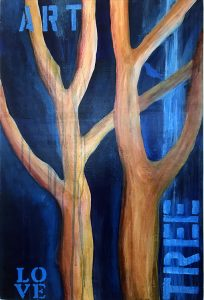 Madrone Tree Art , painting by Lori Kay