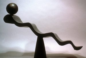 In Transition, bronze sculpture by Lori Kay